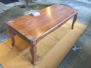 coffee table sanding 3